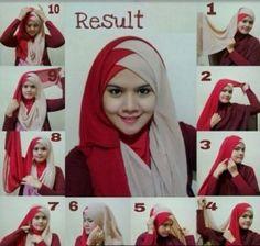 Captura de pantalla 6 de Newest Hijab Tutorial