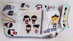 Harajuku Lovers Cherry Bomb Doodle Girls Cosmetic Bag Chalky Girls New with Tags #HarajukuLovers