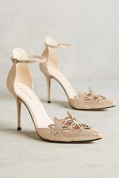 Romea Ankle Strap Pumps - anthropologie.com