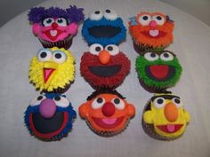 Sesame Street Cakes and Cupcakes | Sesame Street Cupcakes | Flickr - Photo Sharing!