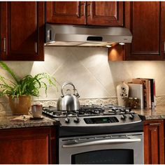 pictures of range hoods in kitchens   Range Hoods - Evolution QP3 Series Under Cabinet Mount Range Hood with ...