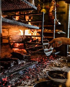 Connect with the Charter Oak restaurant in St Helena over social media! Our restaurant is consistently seen as one of the best places to eat in Napa Valley. Outdoor Bbq Kitchen, Outdoor Oven, Backyard Kitchen, Outdoor Cooking, Asado Grill, Bbq Grill, Carne Asada, Grilling Art, Commercial Kitchen Design