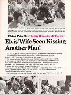 {*Priscilla with Home Wrecker Mike Stone : Elvis And Priscilla, Priscilla Presley, Elvis Presley, Chuck Norris Wife, Elvis Memorabilia, Home Wrecker, Newspaper Headlines, Ex Boyfriend, Graceland