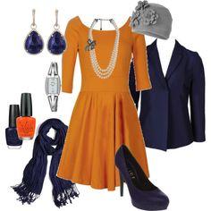 I made an Auburn outfit, haha.