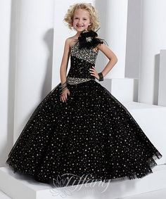 Tiffany Princess Girls Sparkle Tulle Pageant Dress 13321 at frenchnovelty.com