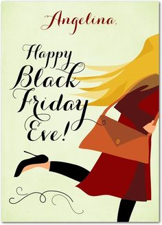 Black Friday Eve - Happy Thanksgiving Greeting Cards from Treat.com