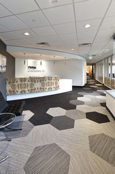 Hexagon Collection. Phillips Architecture's Office Relocation