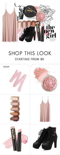 """""""*** Pink Punk ***"""" by veewers ❤ liked on Polyvore featuring Urban Decay, L.A. Girl and Moschino"""