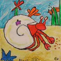 A house for hermit crab lesson ideas