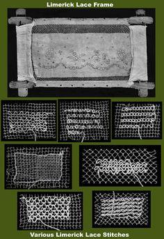 Weldon's 213 Practical Limerick Lace PDF by ivarose Needle Lace, Bobbin Lace, Doily Patterns, Vintage Patterns, Dress Patterns, Antique Lace, Vintage Lace, Lace Embroidery, Embroidery Stitches