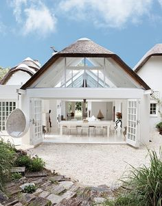 Yet another incredible beach house in Cape Town, this place is unbelievably gorgeous. Home - Beach Living Architecture Durable, Architecture Design, Building Architecture, Light Architecture, Coastal Homes, Coastal Living, Coastal Cottage, White Cottage, Luxury Living