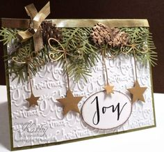 Kathy Schweinfurth:  Stamps At Play: Merry Monday Christmas Card Challege #99 - 3/10/14