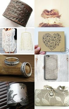 Floral collection by Margarita Gavrichkova on Etsy--Pinned with TreasuryPin.com