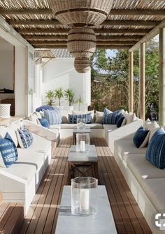 Picking the Perfect Outdoor Patio Decoration – Outdoor Patio Decor Outdoor Furniture Sets, Outdoor Decor, House, Home, Outdoor Rooms, Beach House Interior, House Exterior, Outdoor Lounge, House Styles