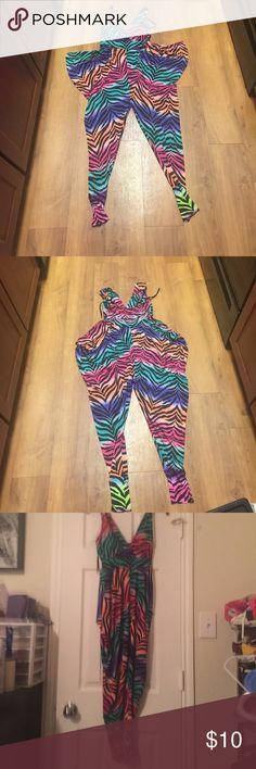 Zebra multicolor jumpsuit Zebra multi color jumpsuit Other