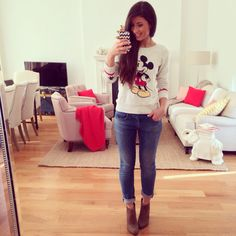 Mimi Ikonn   Mickey Mouse sweater