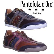 Pantofola D'ORO Ascoli LOW Mens Leather Trainers UK Size 6 7 8 9 10 11 12 | eBay