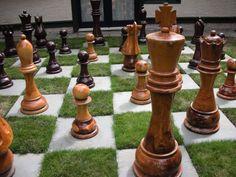 Backyard Chess-so doing this :-)