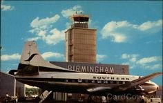 Love this postcard. It was a big treat in high school to drive out to the airport (this was the NEW one), go up to the observation deck and watch the planes take off. Clearly I didn't move in a fast crowd.