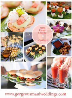 Aloha Events Catering / Gorgeous Maui Weddings