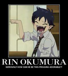 rin okumura hair pinned back - Google Search
