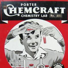 Vintage Chemistry Set @ etsy.com