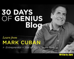 30 Days Of Genius: Mark Cuban