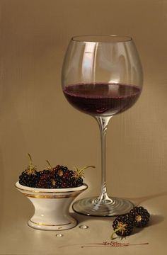 MULIO---RASBERRIES-AND-RED-WINE-2013   - by Javier Mulió, known simply as Javier to collectors around the world