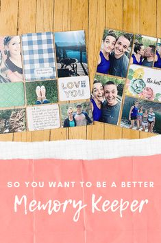 Chelannigans: So You Want To Be A Better Memory Keeper? Project Life Album, Project Life Layouts, Scrapbooking Ideas, Digital Scrapbooking, Family Yearbook, Page Protectors, Life Page, Any Book, Dance Photography