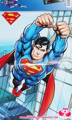 Superman : La grande imagerie des supers héros par Sabine Boccador