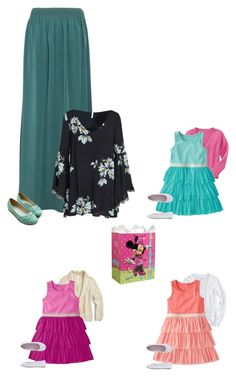 """""""Becca's Party -Sanders"""" by our-poly-friends ❤ liked on Polyvore featuring Old Navy, Vanessa Bruno, Free People, Ollio, Disney and My Little Pony"""