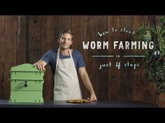 How to start a worm farm in 4 steps: vermiculture made easy - YouTube