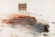 Cy Twombly, Bacchanalia-Fall Days in November), 1977 - The Bacchanalia were Roman mystery cults of the wine god and seer Bacchus. Cy Twombly Art, Cy Twombly Paintings, Robert Rauschenberg, Abstract Expressionism, Abstract Art, Abstract Paintings, Contemporary Paintings, Dulwich Picture Gallery, Gerhard Richter