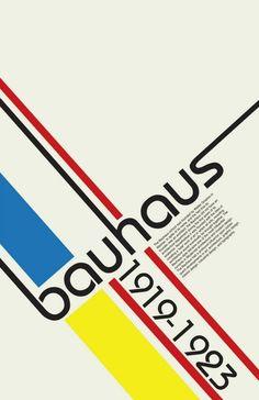 Bauhaus Escuela de artesanía , diseño , arquitectura inaugurada el 1919 en Alemania y cerrada por los nazis el 1923