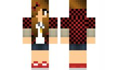 minecraft skin Cute-Bajan-Girl Find it with our new Android Minecraft Skins App: https://play.google.com/store/apps/details?id=the.gecko.girlskins