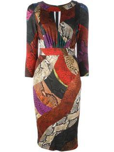 Comprar Just Cavalli snakeskin print dress en Vitkac from the world's best independent boutiques at farfetch.com. Descubre 400 boutiques en 1 sola dirección.