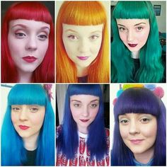 Manic Panic Blue Steel Voodoo Blue And Siren Song To