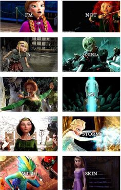 Awesome jelsa shrek httyd