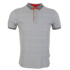 Ted Baker Bowstar Printed Star Polo