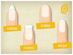 Cuadrada, redonda, ovalada o almendra, ¿cuál es la forma perfecta para tus uñas?