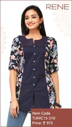 #Tunics #Trendy #Smart #WesternWear #Women #Fashion #Unique #Flipkart #Snapdeal #ReneIndia #ootd