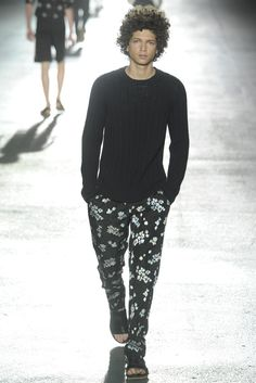 Dries Van Noten Men's RTW Spring 2014