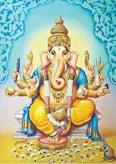 Shri Ganesh! Shri Ganesh, Ganesha Art, Krishna Art, Hare Krishna, Ganesh Images, Ganesha Pictures, Ram Pic, Om Gam Ganapataye Namaha, Lovable Images