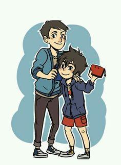 Kids Hamada brothers