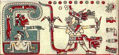 Tlazoltéotl. La diosa náhuatl que devora los pecados de la confesión. Códice Laud, pág. 39.