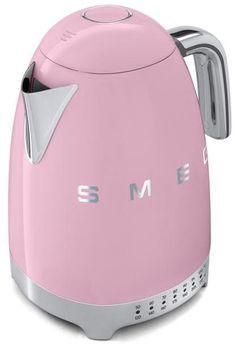 Smeg Kitchen, Bleu Pastel, 3d Letters, Heating Element, Kettle, Retro Fashion, Water, Blue, Inspiration