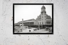 More Richmond prints :  https://www.etsy.com/shop/Chromatone/search?search_query=Richmond  Black and white(platinum) photograph, printed on archival