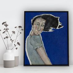 Painting 'Tailwind'.
