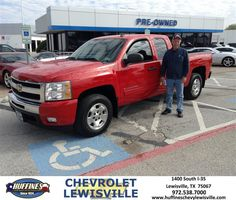 https://flic.kr/p/B178uD | Happy Anniversary to Jackie on your #Chevrolet #Silverado 1500 from David Rumple at Huffines Chevrolet Lewisville | deliverymaxx.com/DealerReviews.aspx?DealerCode=UBM1