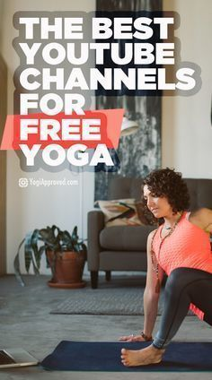 18 YouTube Channels Recommended for Free Yoga Videos. #yoga #workout #yogaphotography